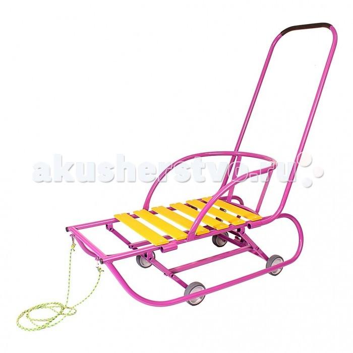 Санки R-Toys Санимобиль De luxe на колесах