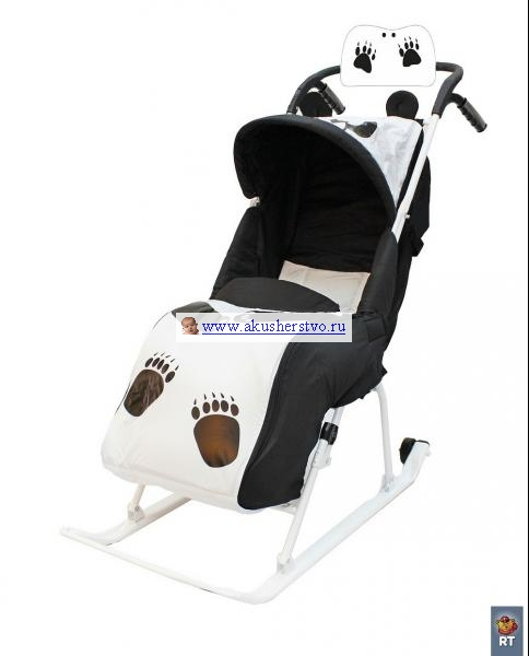 Санки-коляски R-Toys Комфорт Люкс 11 с муфтой