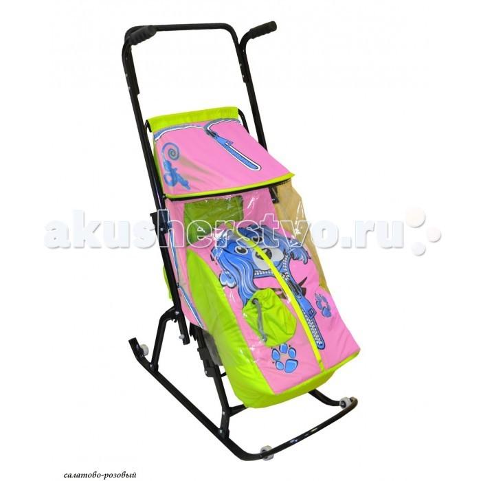 Санки-коляски R-Toys Снегурочка 4-Р Собачка