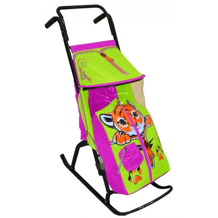 Санки-коляски R-Toys Снегурочка 2-Р Тигренок