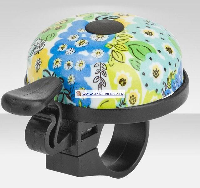 Аксессуары для велосипедов R-Toys Звонок алюминий Цветы