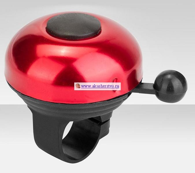 Аксессуары для велосипедов R-Toys Звонок Кнопка алюминий