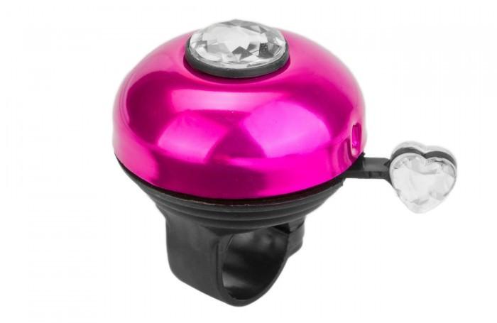 Аксессуары для велосипедов R-Toys Звонок с бриллиантом алюминий