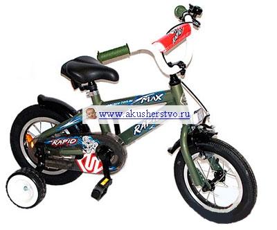 Двухколесные велосипеды Rich Toys Rapid-ob
