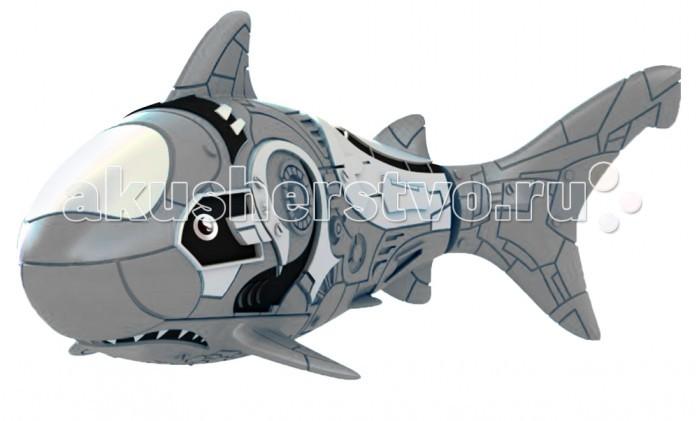 РобоРыбка Акула Серый