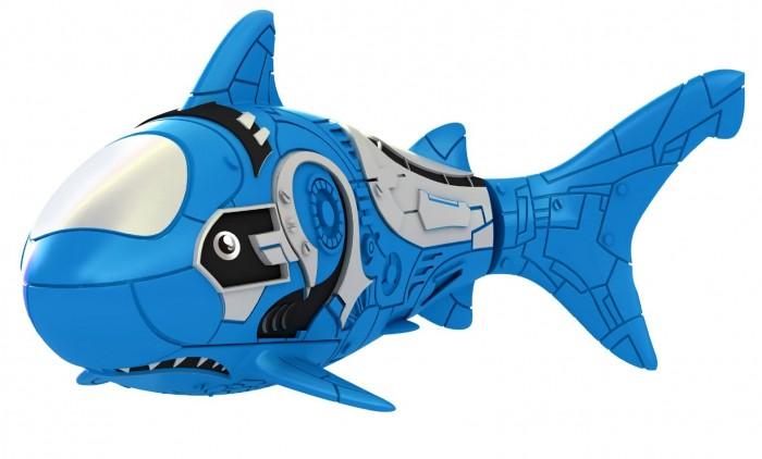 РобоРыбка Акула Голубой