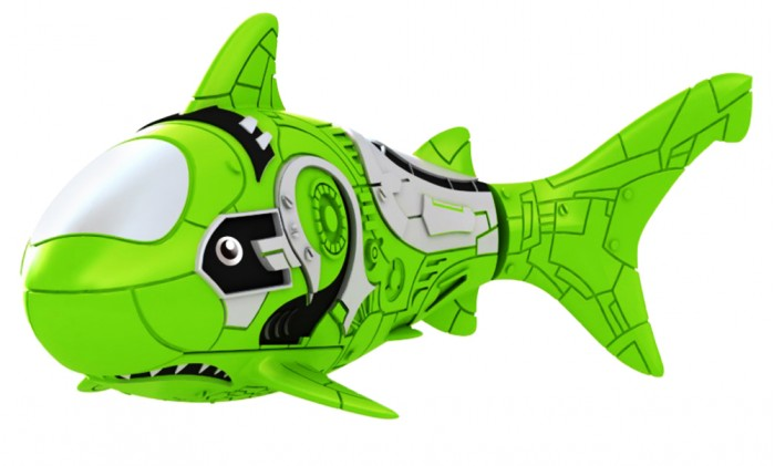 РобоРыбка Акула Зеленый