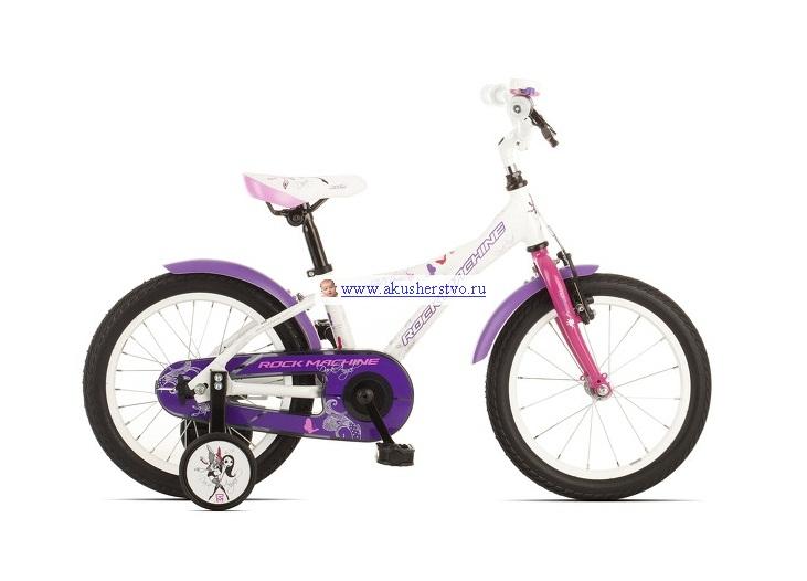 Двухколесные велосипеды Rock Machine Dark Angel 16
