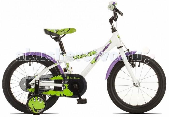 Двухколесные велосипеды Rock Machine Dino 16