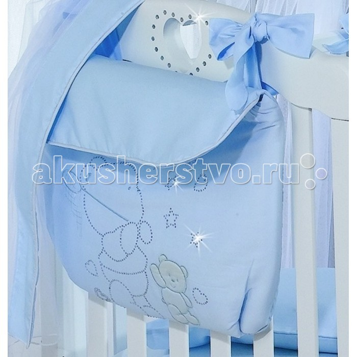 Карманы и панно Roman Baby Сумка на кроватку Polvere Di Stelle