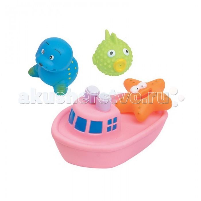Игрушки для купания Курносики Игрушка для ванной Веселое путешествие