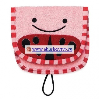 Мочалки Skip-Hop варежка Zoo Wash Mitt