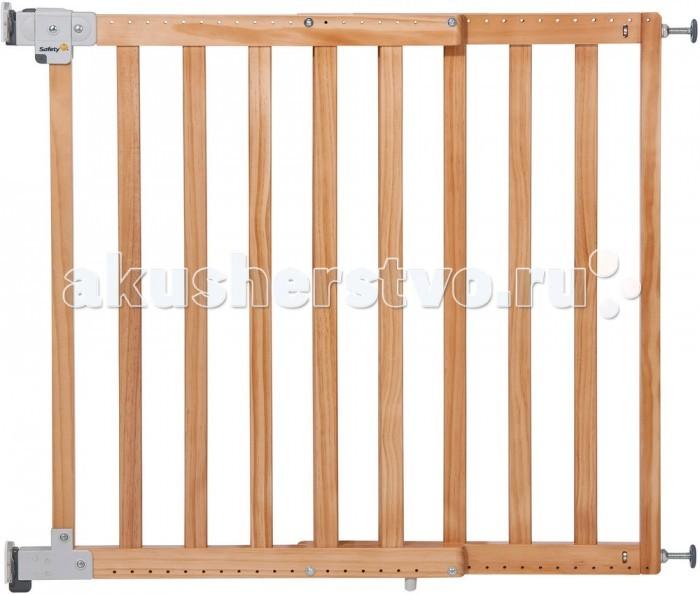 Барьеры и ворота Safety 1st Ворота безопасности  Simply Pressure wooden gate XL 63-104 см