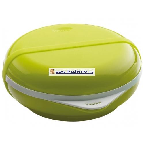 Набор посуды Ellipse Bento: тарелка+крышка, вилка+ложка Green/913279
