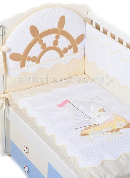 Комплекты для кроваток Селена (Сдобина) Морячок (7 предметов)