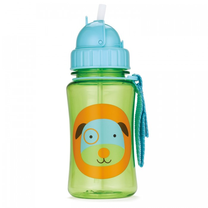 Поильники Skip-Hop Zoo Straw Bottle 350 мл