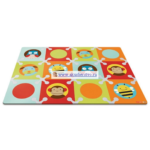 Игровые коврики Skip-Hop Zoo Playspot для игры на полу