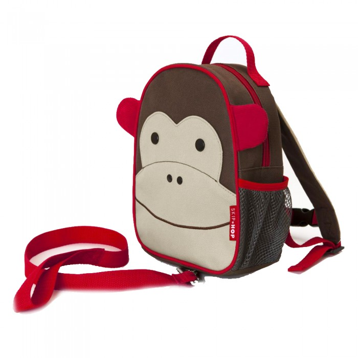 Защита на прогулке Skip-Hop Рюкзачок-поводок Zoo Let Harness
