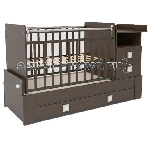 Кроватки-трансформеры СКВ Компани СКВ-8 83003 (поперечный маятник)