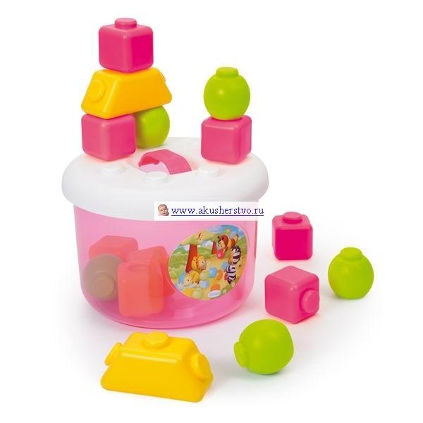 Развивающие игрушки Smoby Cotoons Кубики в ведерке
