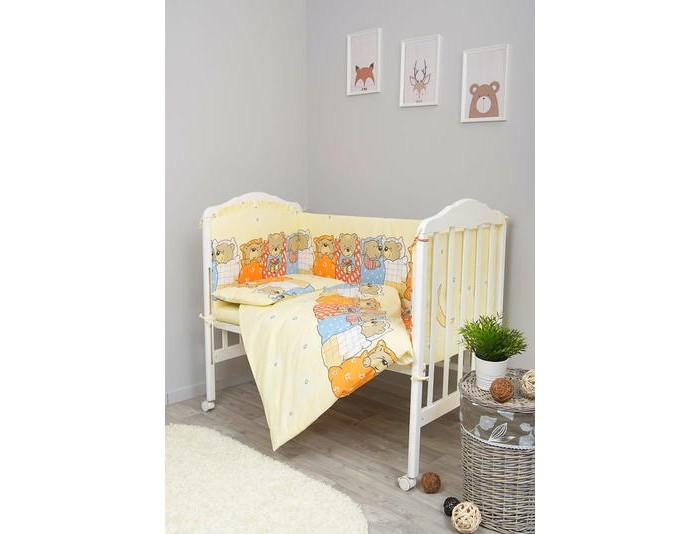 Комплекты для кроваток Сонный гномик Лежебоки (7 предметов)