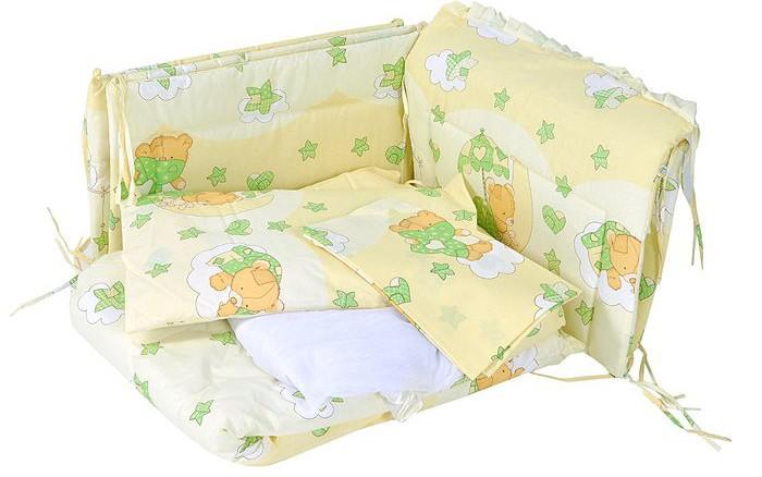 Бамперы для кроваток Сонный гномик Мишкин сон