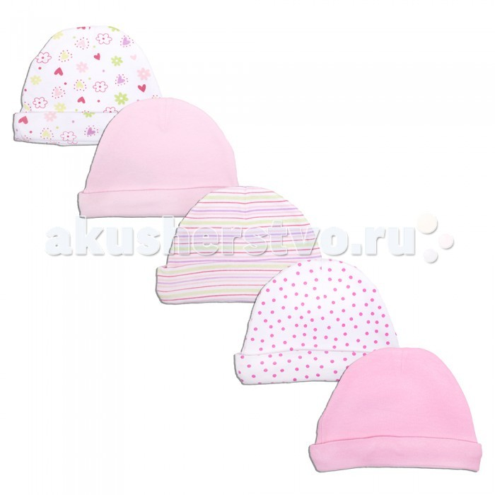 Шапочки и шарфы Spasilk Комплект шапочек 5 шт.