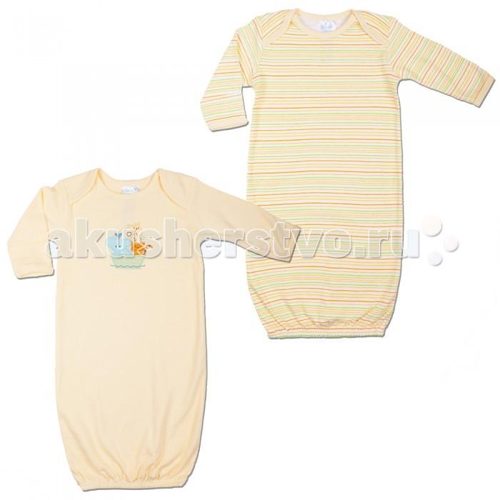 Детский трикотаж Spasilk Ночные сорочки 2 шт. 55-61 см