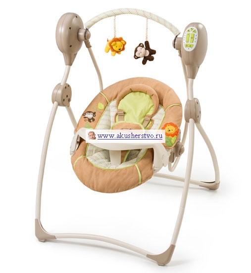 Качели электронные Summer Infant Swingin Safary