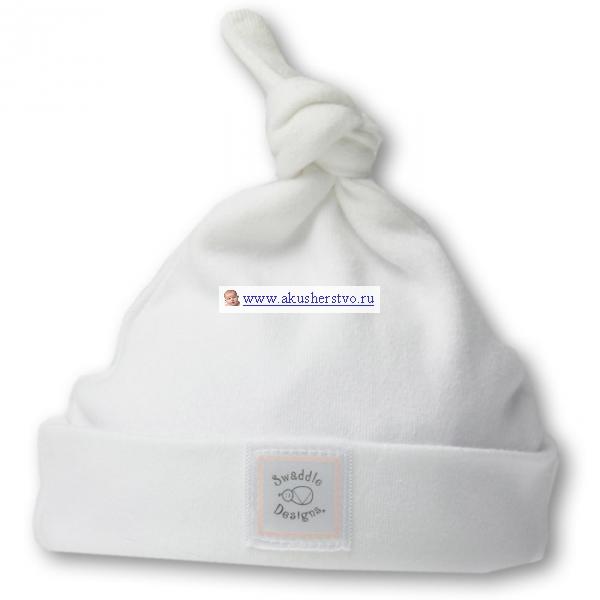 Шапочка для новорожденного White w/PP Dots