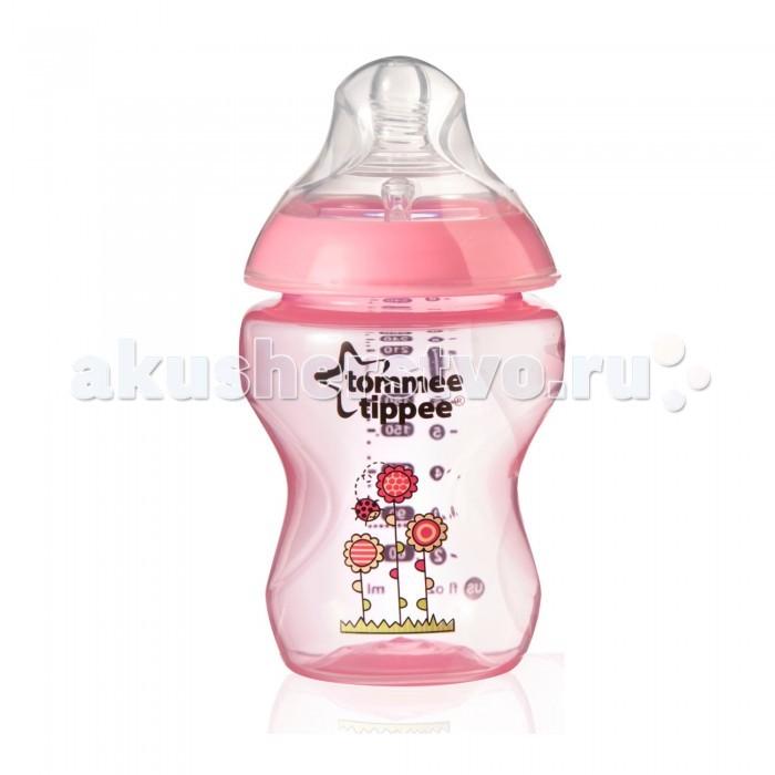 Бутылочки Tommee Tippee с рисунком 2 шт. 260 мл