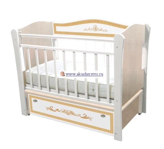 Детские кроватки Влана Меандр (продольный маятник)