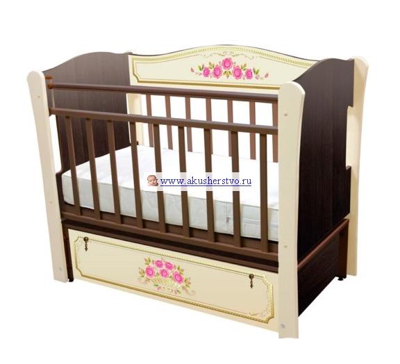 Детские кроватки Влана Розы (продольный маятник)