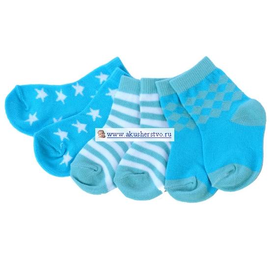 Носки детские Soggs 6 пар Голубые