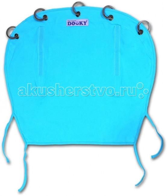 Защитная накидка на коляску Dooky 126703 Голубой, хлопок