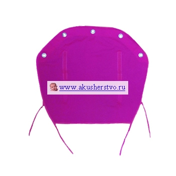 Защитная накидка на коляску Dooky 126704 Розовый, хлопок