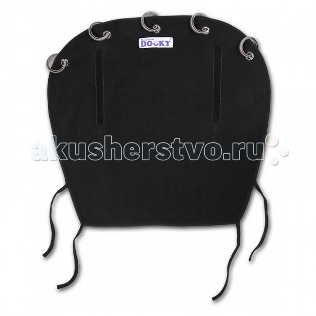 Защитная накидка на коляску Dooky 126760 Черный, флис