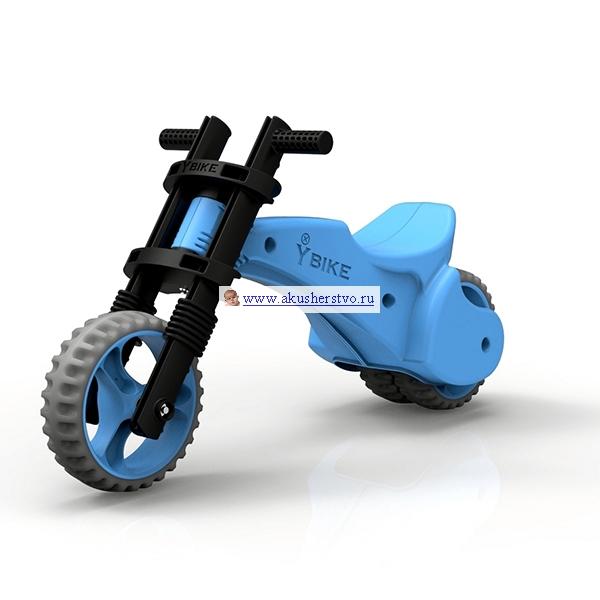 Беговелы Y-Bike Original с резиновыми колесами