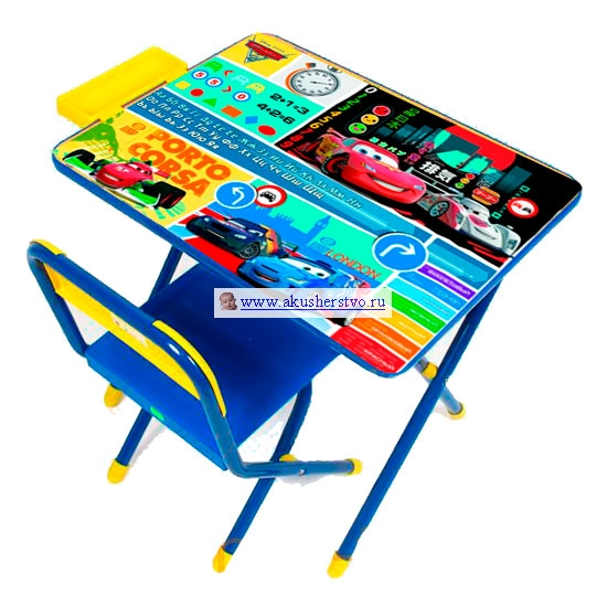 Столы и стулья Дэми Набор мебели №2 Молния Маккуин (Тачки 1)