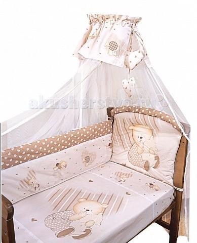 Постельное белье Золотой Гусь Мишутка (3 предмета)