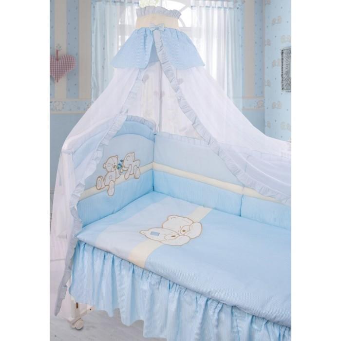 Комплекты для кроваток Золотой Гусь Лапушки (8 предметов)