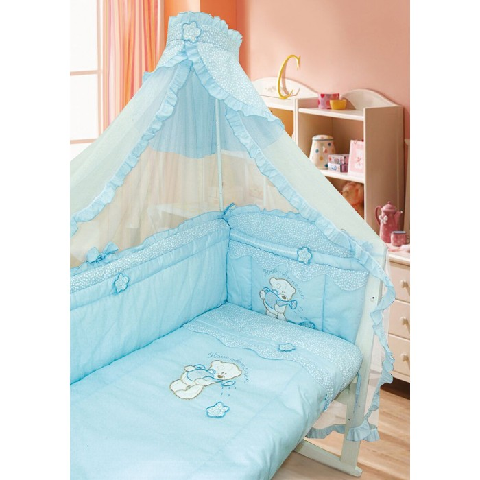 Комплекты для кроваток Золотой Гусь Сабина (7 предметов)
