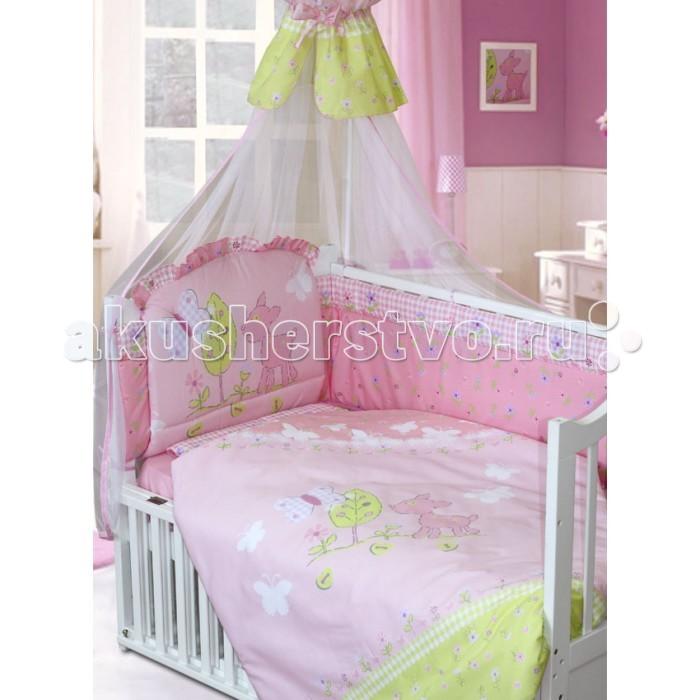 Комплекты для кроваток Золотой Гусь Little Friend 140х70 Евро (7 предметов)